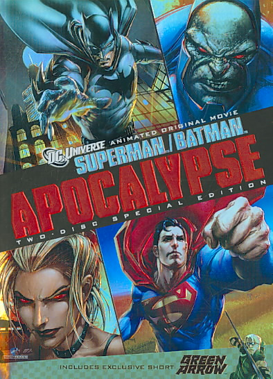 SUPERMAN/BATMAN:APOCALYPSE BY MONTGOMERY,LAUREN (DVD)